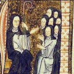 Hildegard_of_bingen_and_nuns - public domain