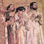 LA Cathedral tapestry 12.2005