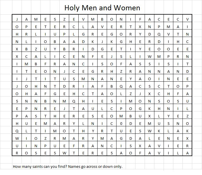 Saints Puzzle 10.2014