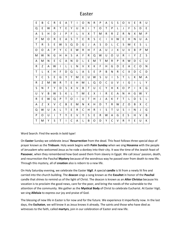 Easter Puzzle 2015 - rev