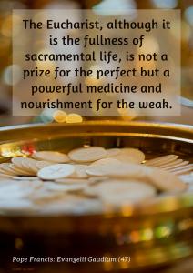 The Eucharist, powerful medicine - 900x1271