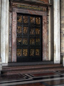 Holy-door - St. Peter's Basilica