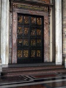 Holy-door - St. Peter's Basilica