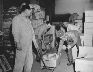 St Vincent de Paul workers - undated photo - Inland Register file photo