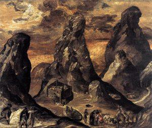 Mount Sinai by El Greco